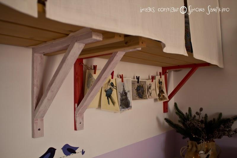 Incantamenti dans mon studio for Staffe per mensole leroy merlin