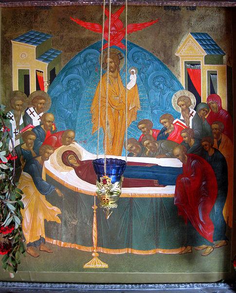 La Dormición de María Obra de Uspenie Bogoroditsy Iglesia de Dormition Kondopoga Rusia