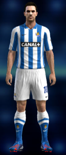 PES 2013 Real Sociedad 12 13 Kit Set by iGo