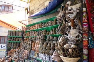 El Mercado de las Brujas Bolivia Pasar Sihir Di Dunia