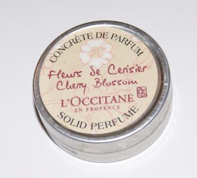 Pachnące maleństwo - L'OCCITANE perfumy w kremie Kwiat Wiśni  eva natura teens