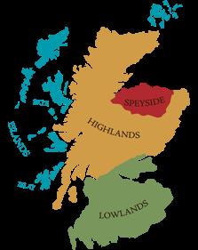 Whisky Regions, lowlands, higlands, speyside, islands