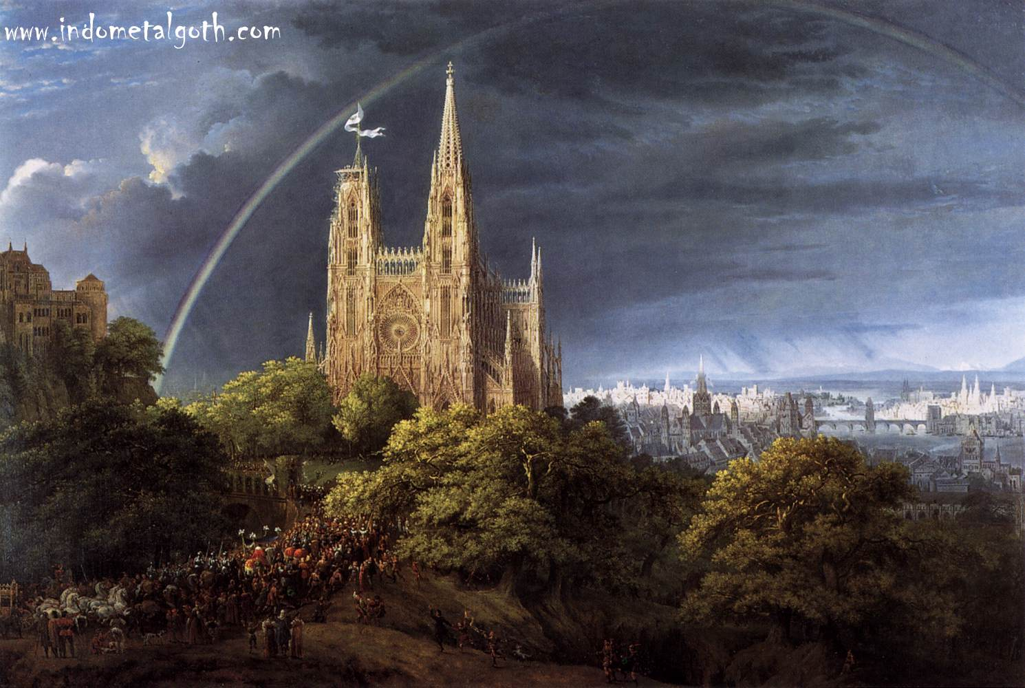 Gothic Cathedral (Inspirations In Image And Video)