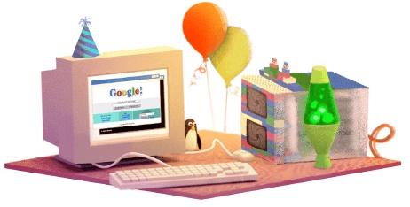 """يحتفل جوجل اليوم """"الذكرى الـ17 على تأسيس شركة Google"""" العيد الـ17 لجوجل اليوم الأحد"""