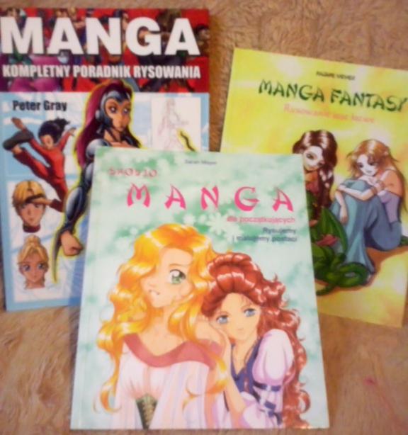 Manga - poradniki rysowania