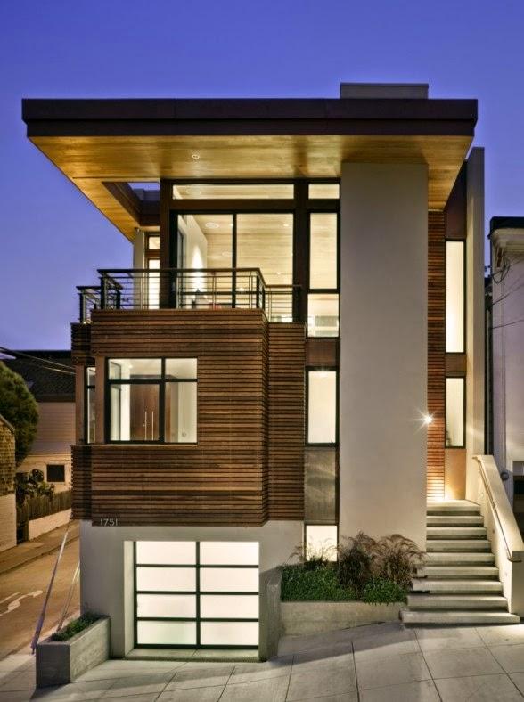 Fasad Rumah Minimalis Lantai 2