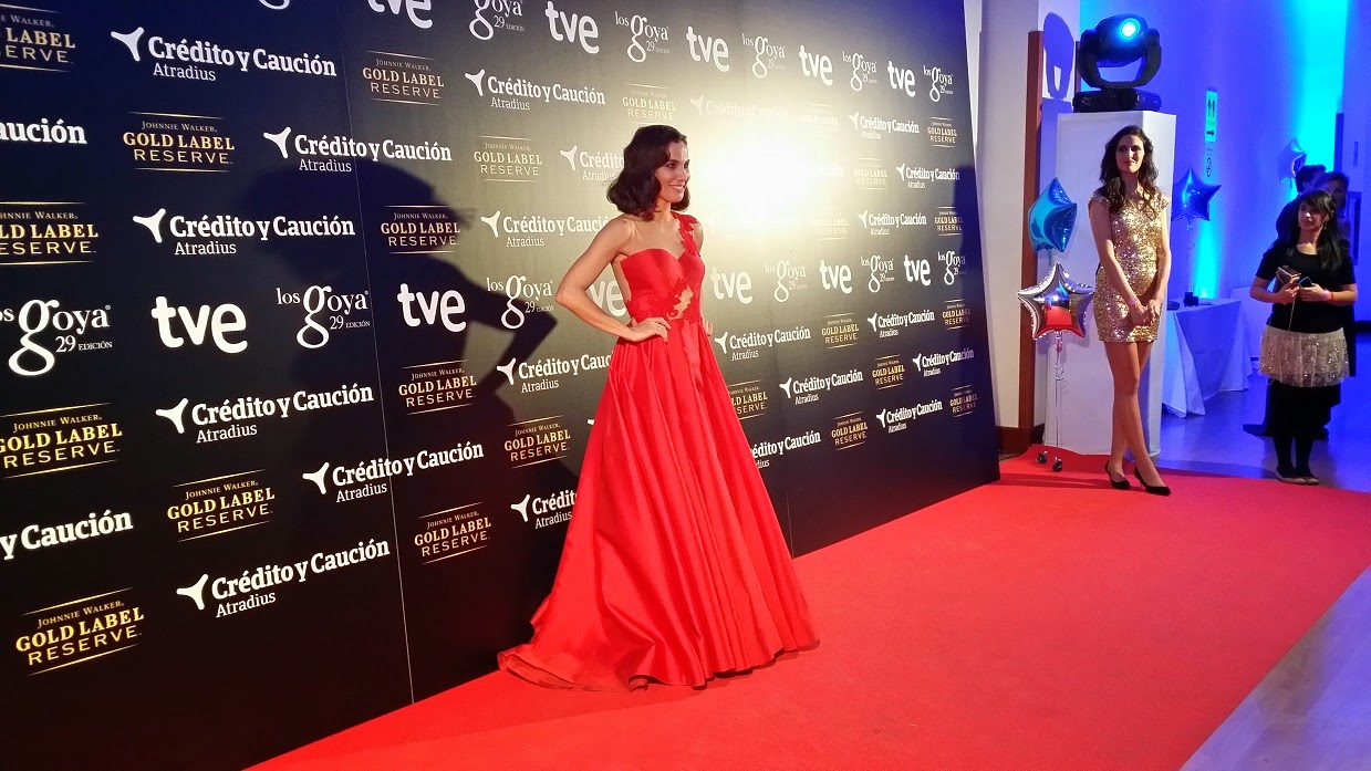 Matilde Cano, Stroke Nails, Gala de Los Goya, Party, Dress, Look, Films, Movie, Style, Fashion Blogger