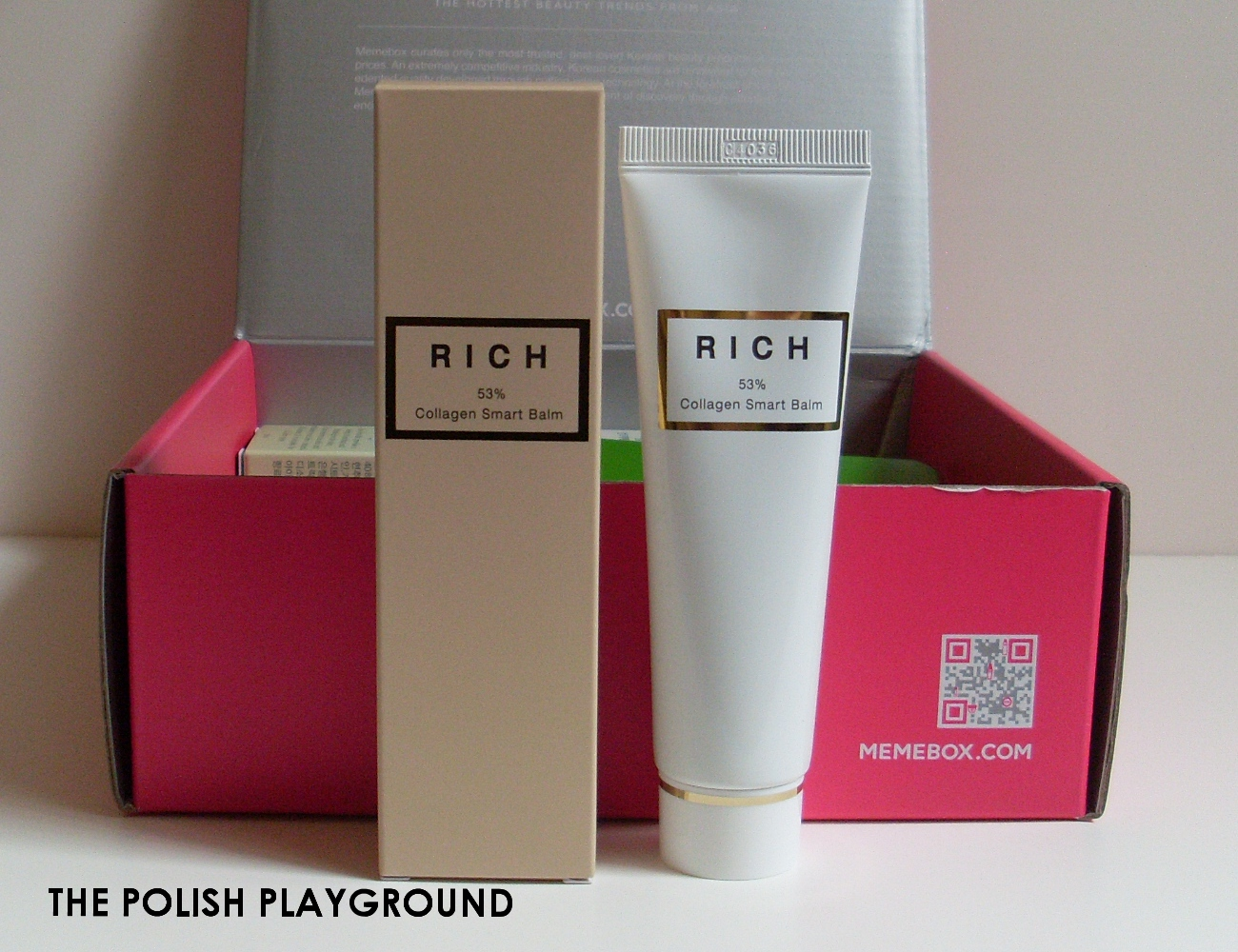 Memebox Special #35 Moisture Surge Unboxing - ROSEMOON RICH 53 Percent Collagen Smart Balm