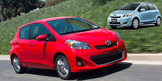 Price of Toyota All-New Yaris 2012