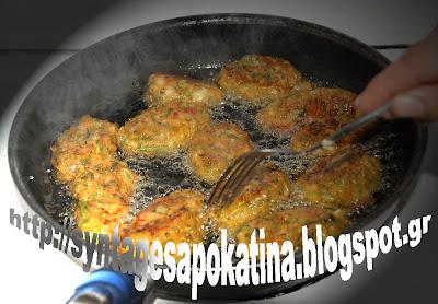 σπαράγγια κεφτέδες της Κατίνας http://syntagesapokatina.blogspot.gr