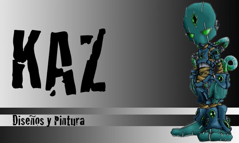 Kaz - Diseño y pintura