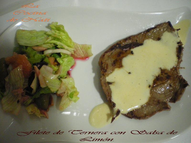 La cocina de nati filetes de ternera con salsa de lim n - Filetes de ternera con salsa ...