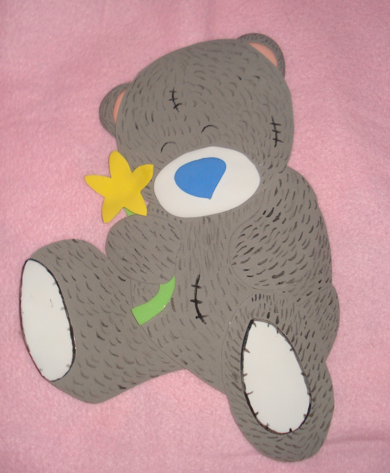 ... MIS MANOS?? ? ??: OSITOs en FOami..en especial osito teddy