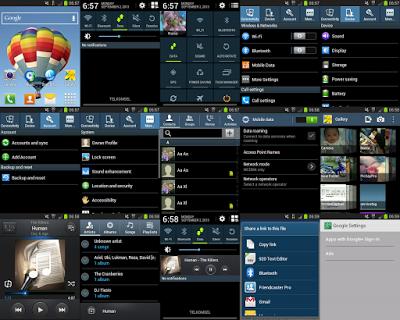 Tampilan Custom ROM Samsung S5 untuk Smartfren Andromax I