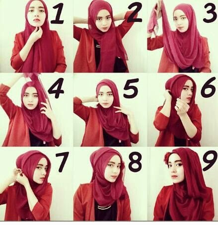 Hijab Tutorial Classy Style
