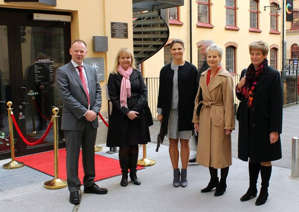 Crown Princess Victoria visited the city of Norrköping in Östergötland