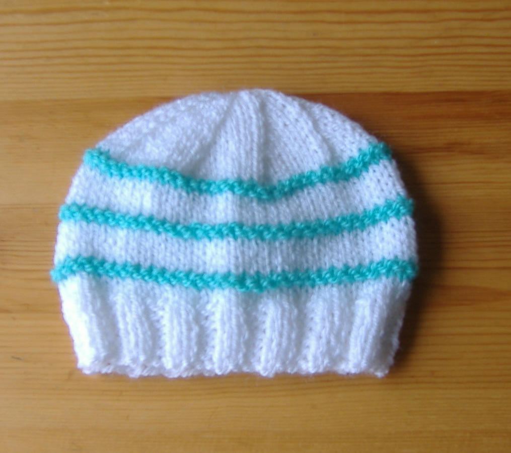 Knitted Baby Boy Hat Patterns : mariannas lazy daisy days: Knitted Baby Boy Hats