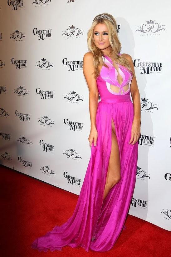 Stylesbeat Paris Hilton 33rd Birthday Dress
