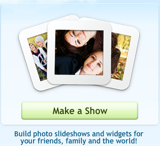 Picnik make a show button