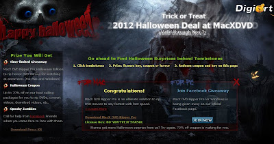 Free MacXDVD Ripper Pro Halloween Edition