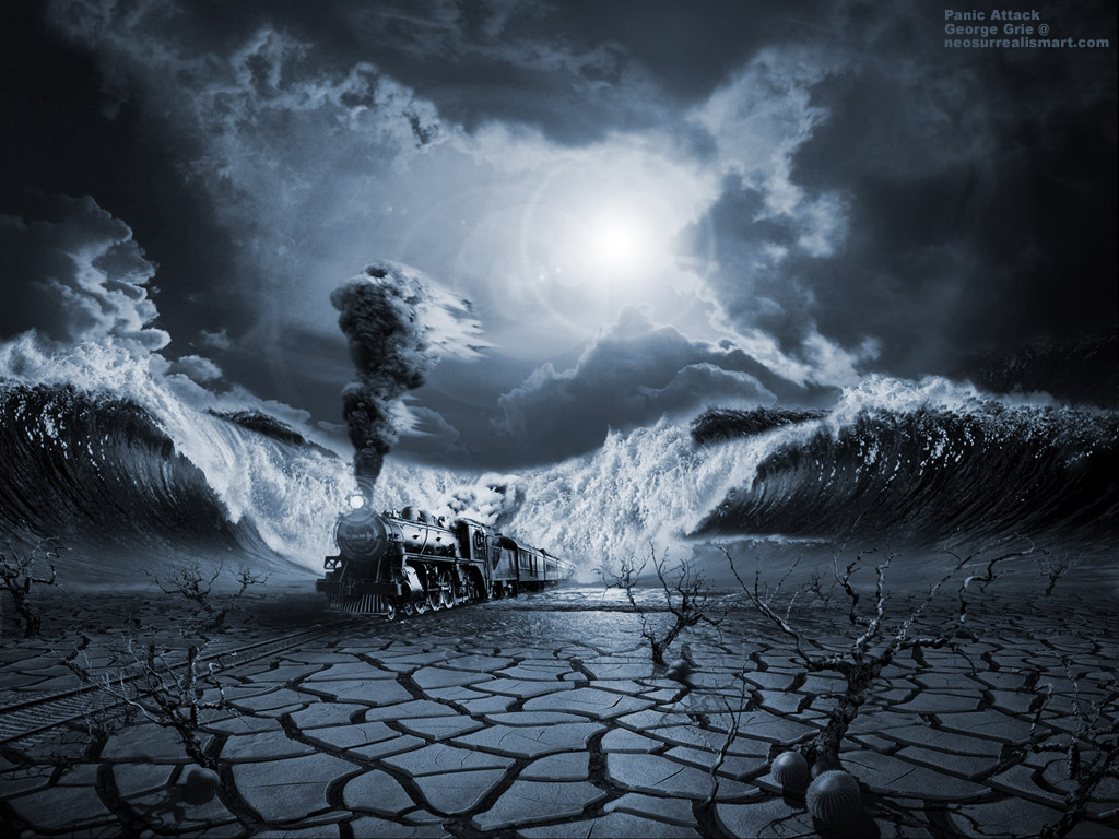 05-Panic-Attack-George-Grie-Travels-Through-Neo-Surrealist-Art-Land-www-designstack-co