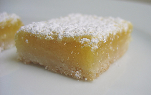 Harter House World Flavors: Luscious Lemon Bars