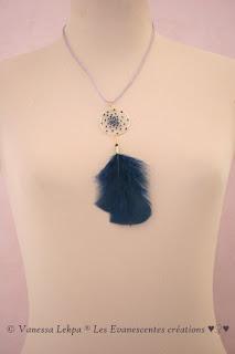 bijoux attrape rêves collier vanessa lekpa Les Evanescentes creations