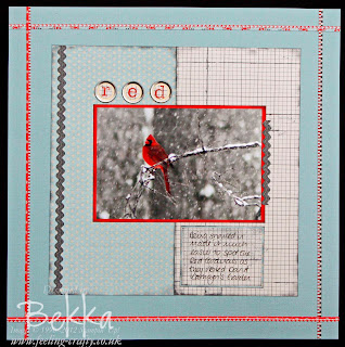Fab Scrapbook Page by Bekka using Stampin' Up! supplies.  For UK, Nederlands, Österreich, Deutschland & France get your Stampin' Up! supplies from her at www.feeling-crafty.co.uk