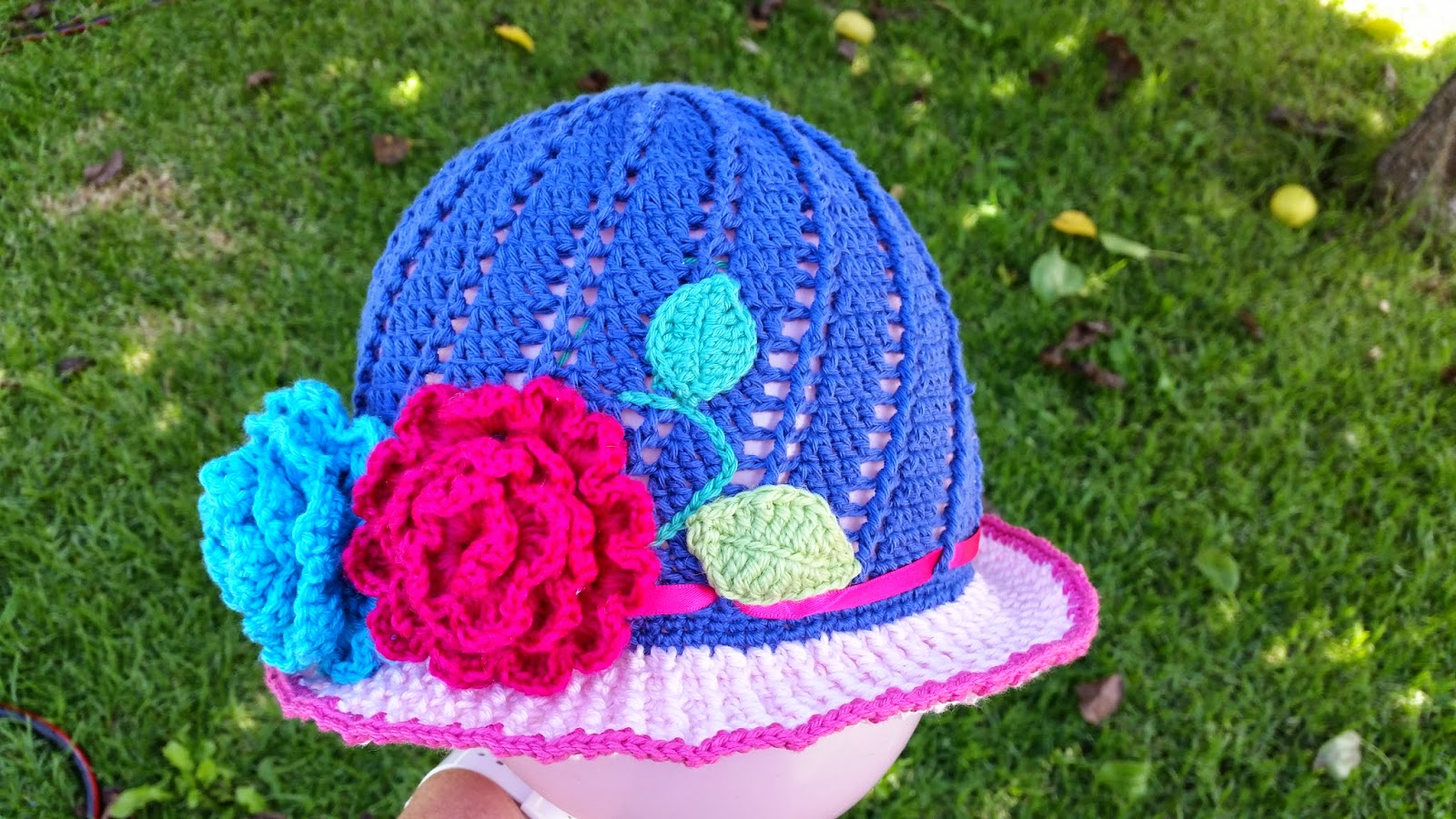 Red haired amazona russian little girls cloche hat pattern the ta dah dt1010fo