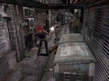 Resident evil 3 Nemesis Screenshot