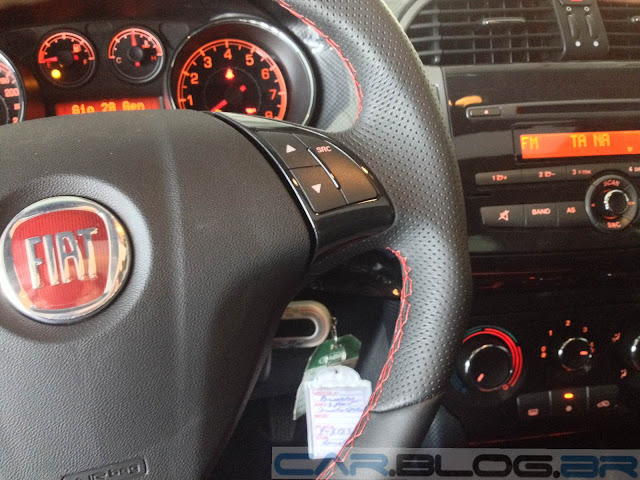 Fiat Bravo Sporting 2014 Dualogic - painel