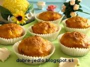 Ananásovo-mrkvové muffiny - recept