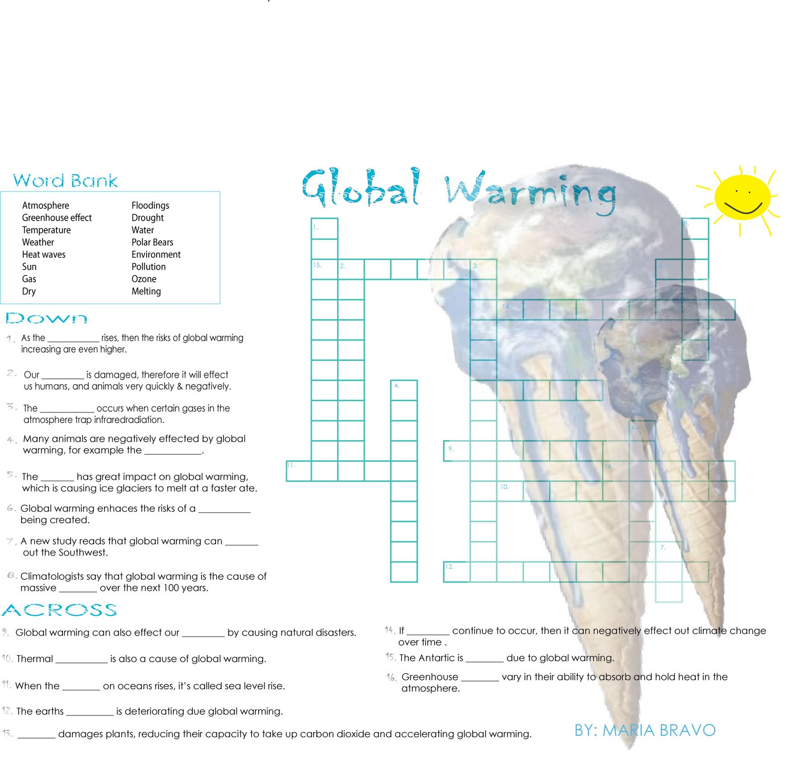 negative effects of global warming