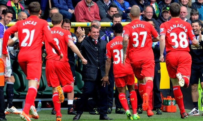 Norwich City 2 - 3 LIVERPOOL  #20/04/2014  #EPL