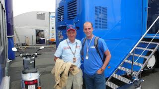 Dennis Noyes en Sachsenring 2010