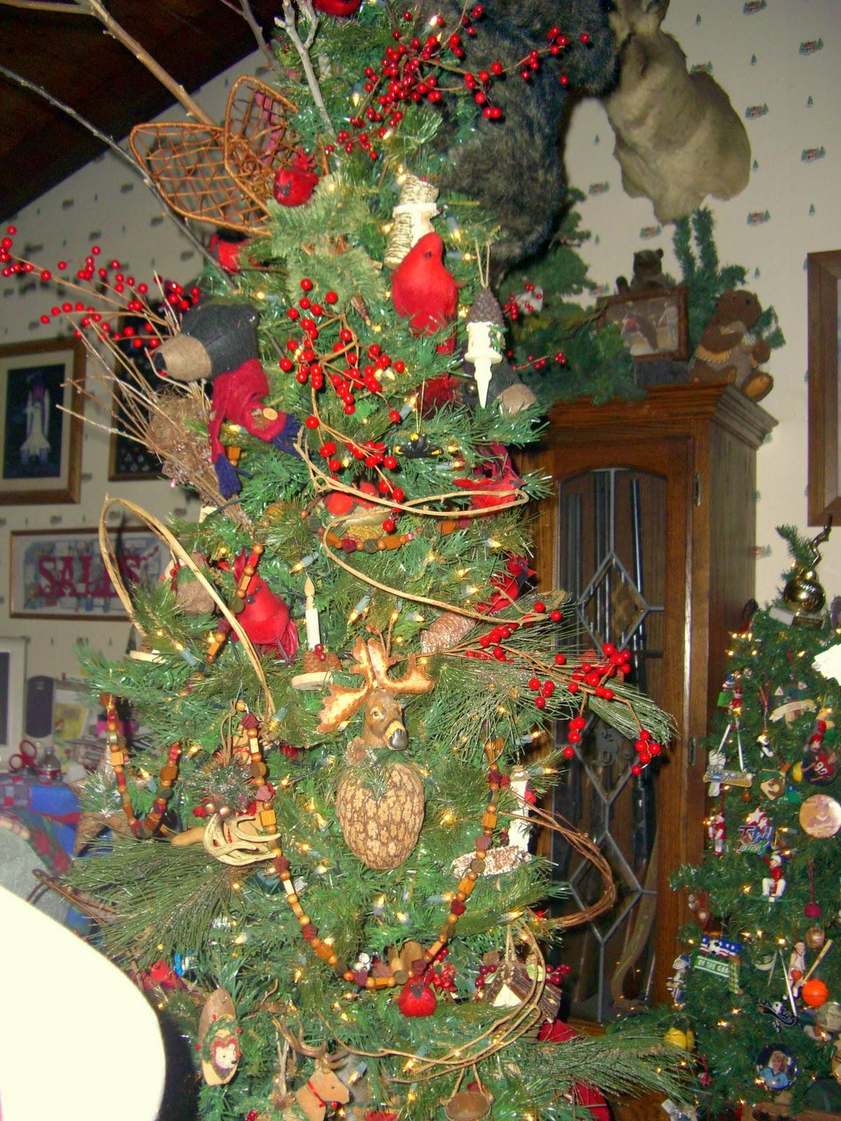 Yeowzers: House full of Christmas trees