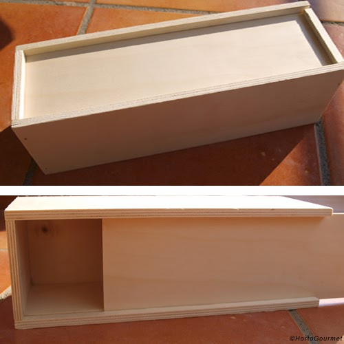 Caja de botella de vino individual HortoGourmet