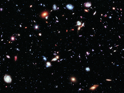 The Hubble extreme deep field view