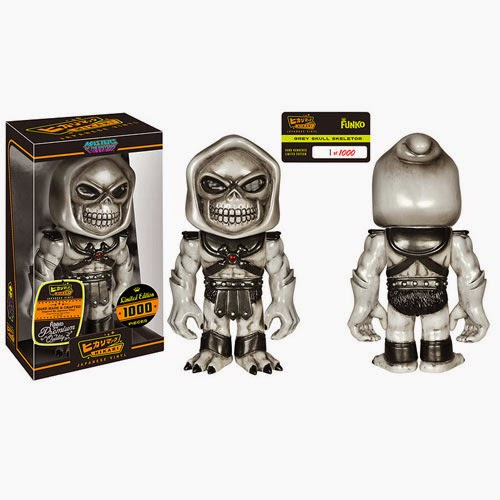 """Grey Skull"" Skeletor Masters of the Universe Hikari Sofubi Vinyl Figure by Funko"