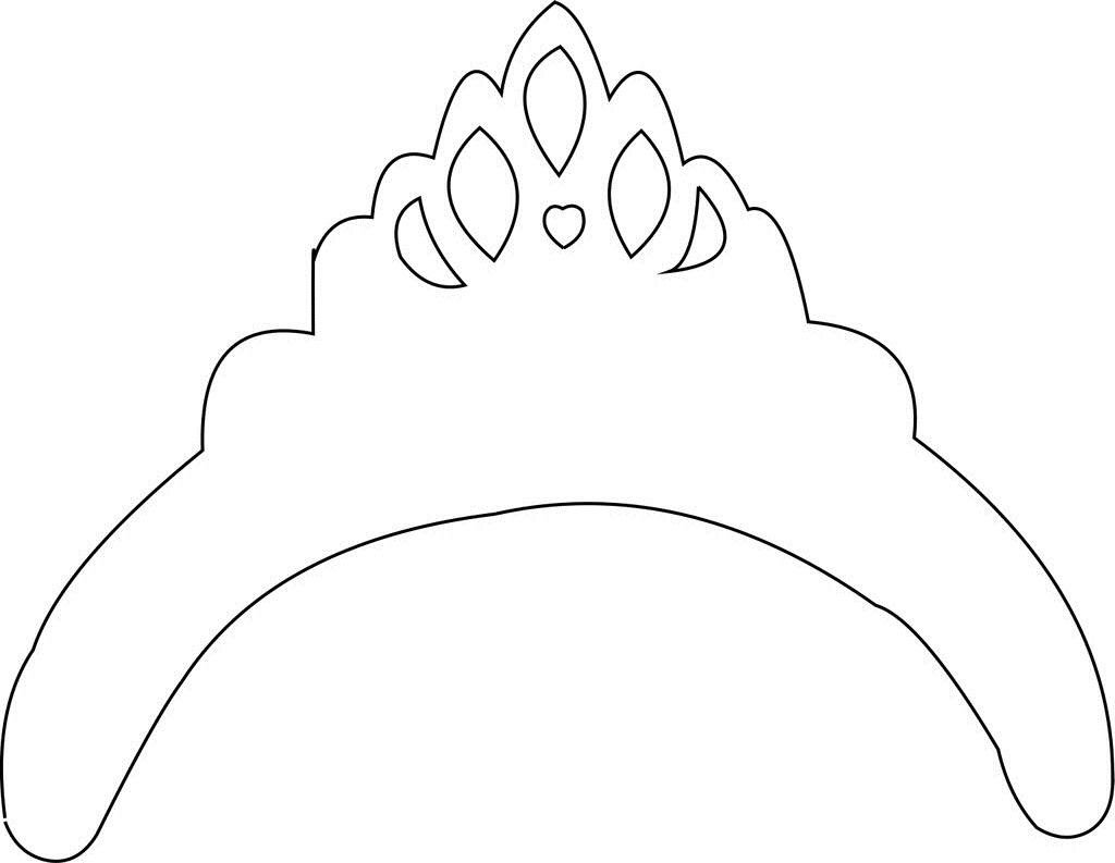 dibujos de coronas de princesas: