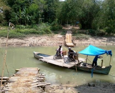 Jalan Alternatif Ekstrim Desa Karangpaing Kab. Grobogan