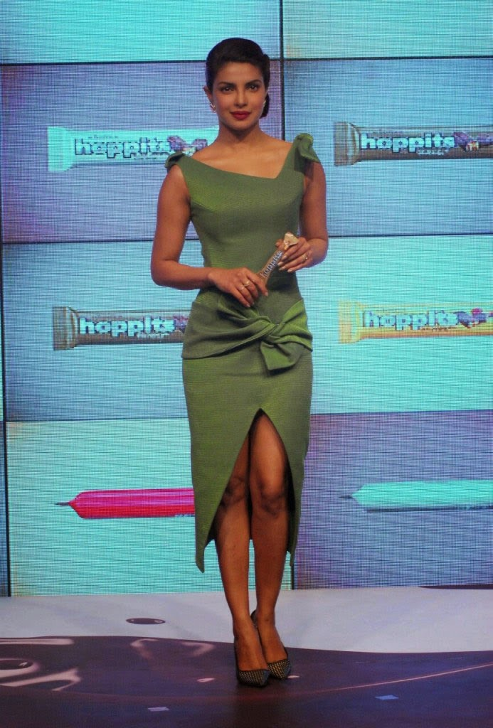 Priyanka Chopra in sexy green dress