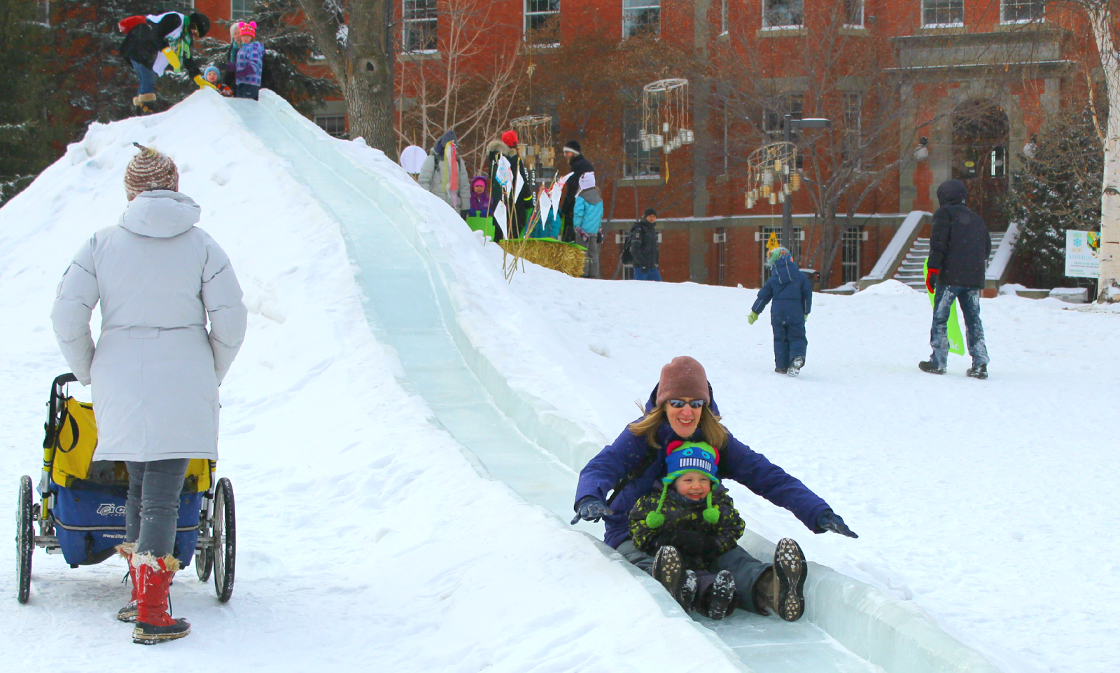 Sliding on Campus