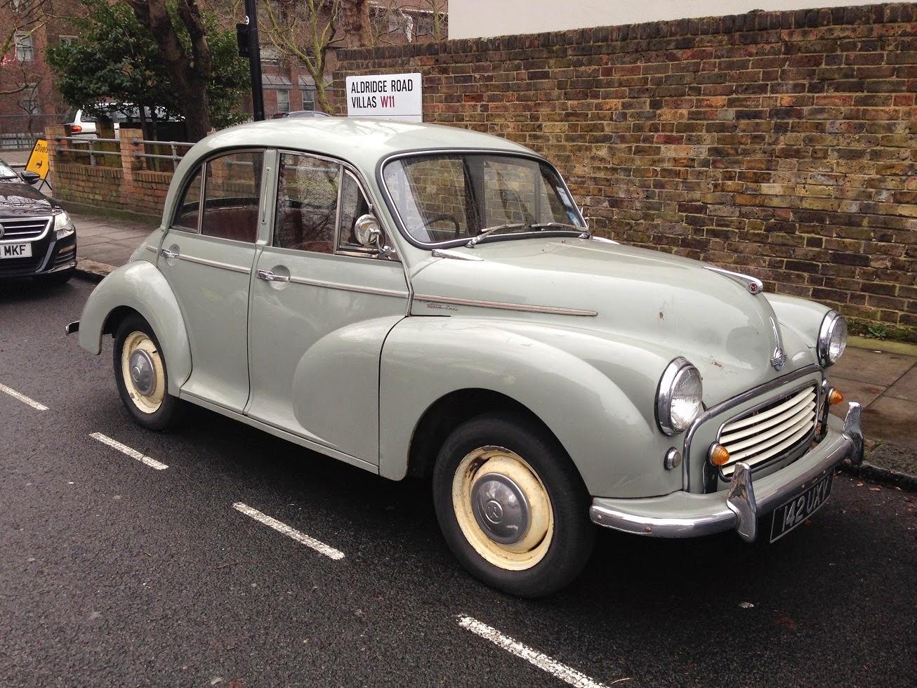Morris Minor, London W2