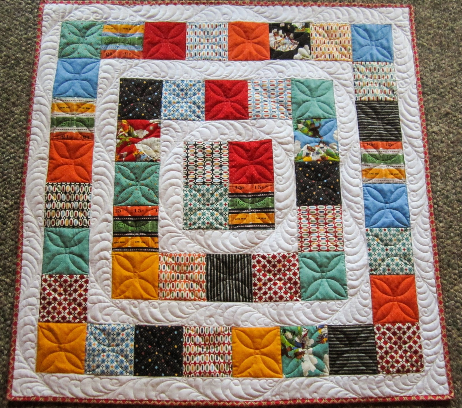 Sue Daurio's Quilting Adventures: 8 quilts for 100 quilts for kids : quilting with kids - Adamdwight.com