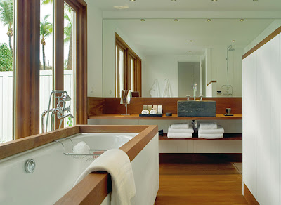 Luxury Bathroom Wooden Furniture