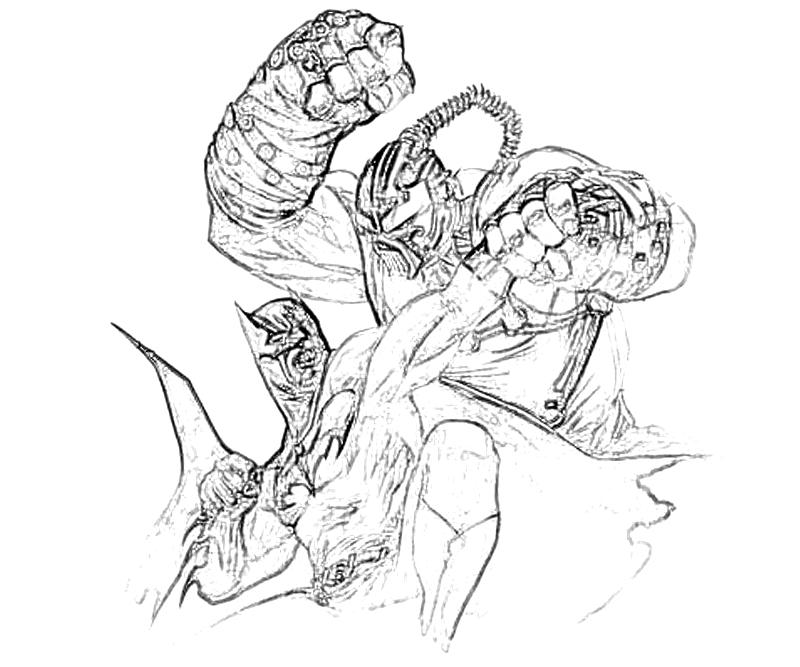bane from batman coloring pages - photo#36