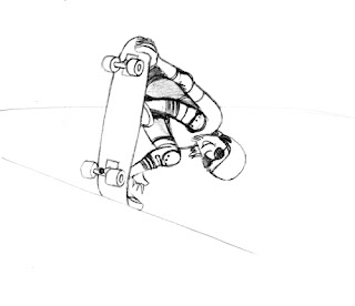 A Desenhar As Melhores Manobras Radical   colorir