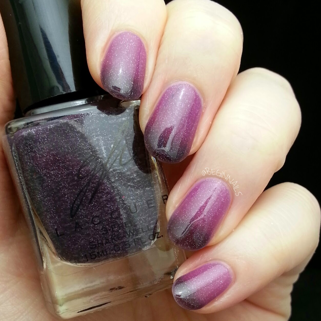 Let\'s Begin Nails: Glam Paint Lacquer Swatch and Review