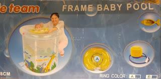 Kolam Renang Bubble Team Frame Baby Pool